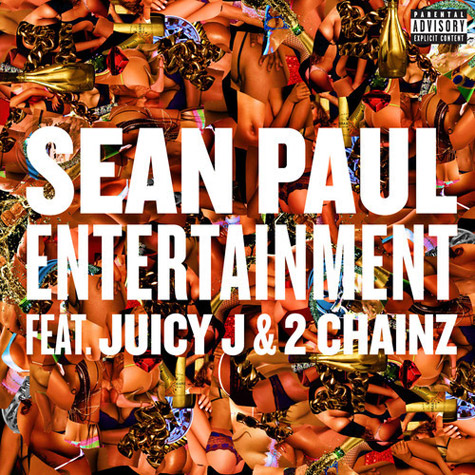 Sean Paul ft. Juicy J and 2 Chainz Entertainment Single Cover